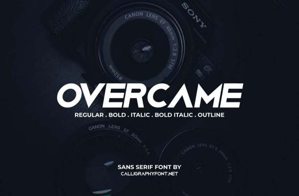 Overcame Font
