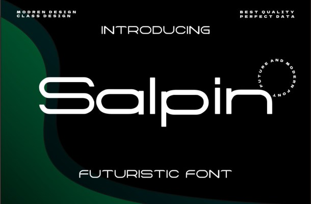 Salpin Font