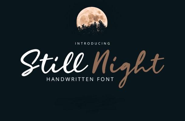 Still Night Font