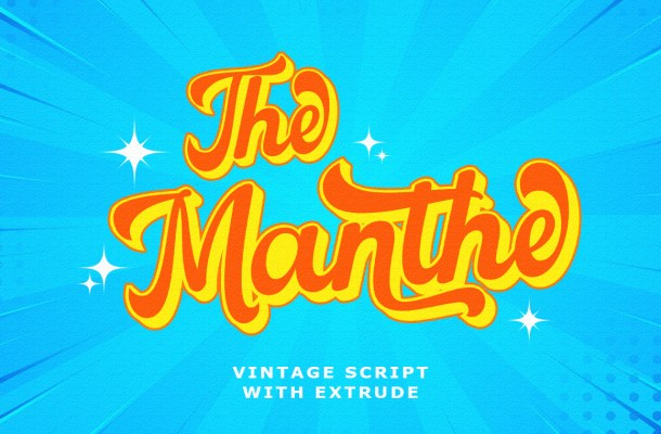 The-Manthe-Font