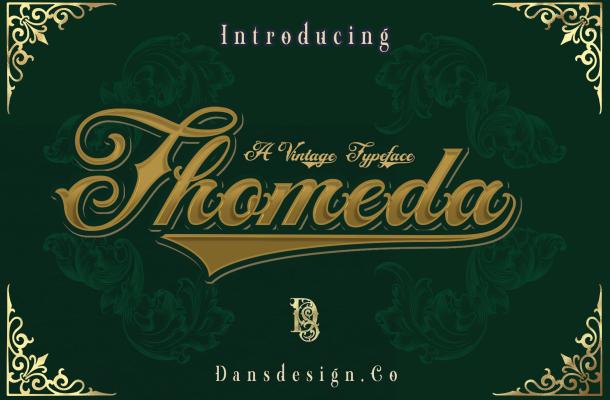 Thomeda-Font