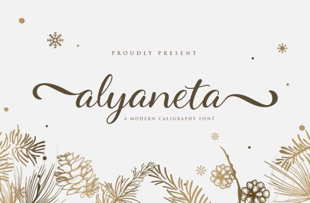 Alyaneta-Font