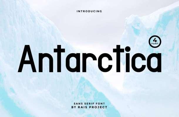 Antarctica Font