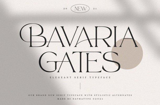 Bavaria Gates Font
