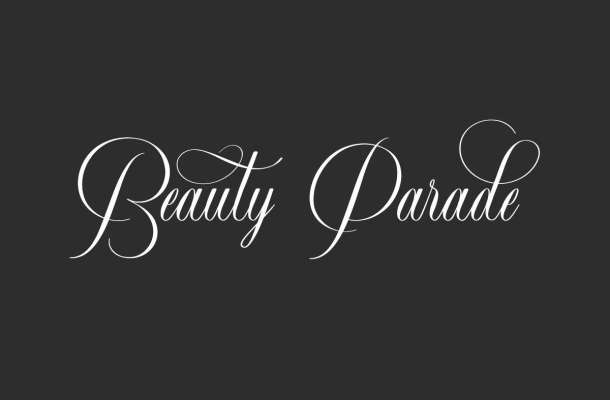 Beauty-Parade-Font