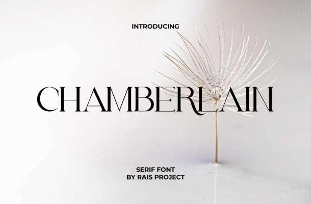 Chamberlain Font