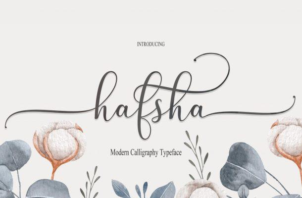 Hafsha-Font