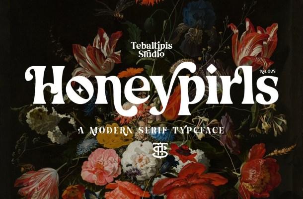 Honeypirls Font