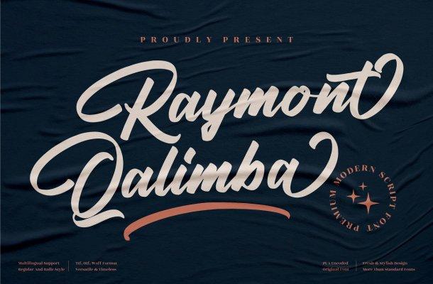 Raymont-Qalimba-Font