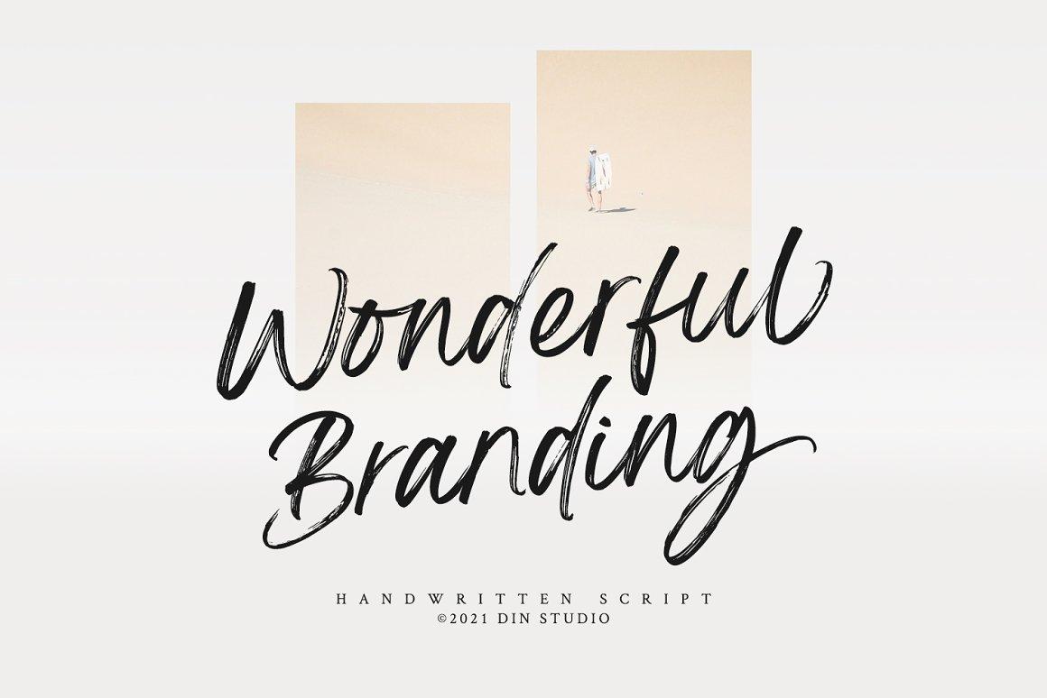 Wonderful-Branding-Font