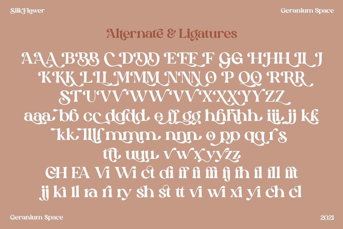 Silk-Flower-Font-3
