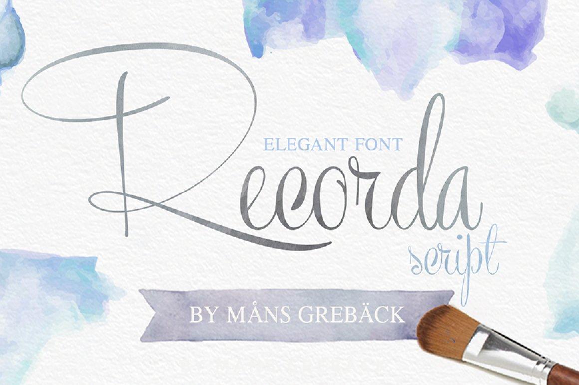 Recorda-Script-Font-3