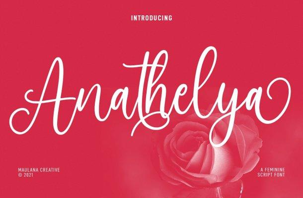 Anathelya Font