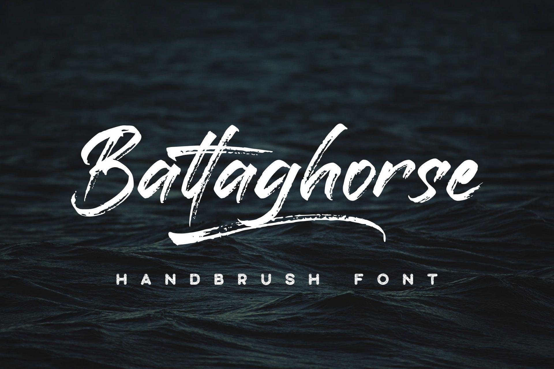 Battaghorse Font