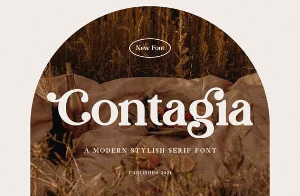 Contagia Font