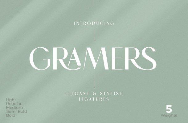 Gramers Font