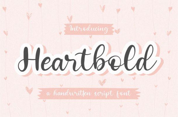 Heartbold Font
