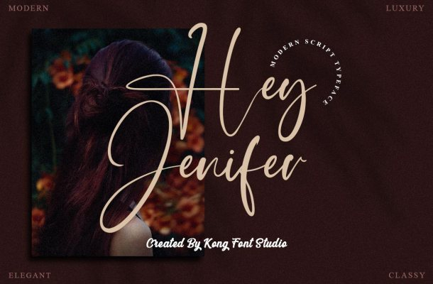 Hey Jenifer Font