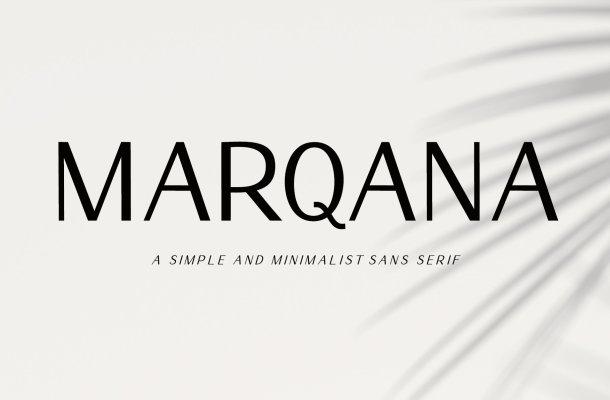 Marqana Font