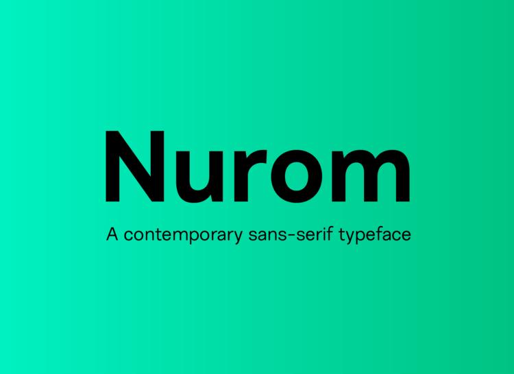 Nurom Font