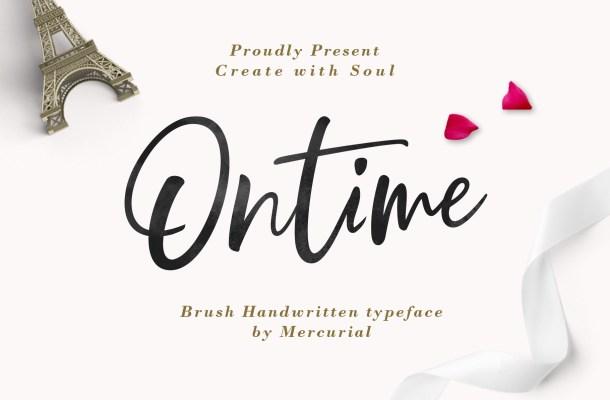 Ontime Font