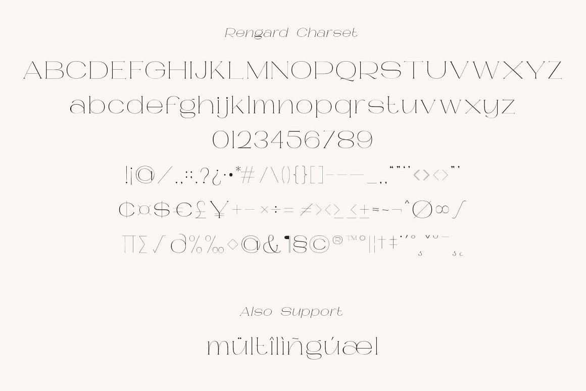 Rengard Font-3