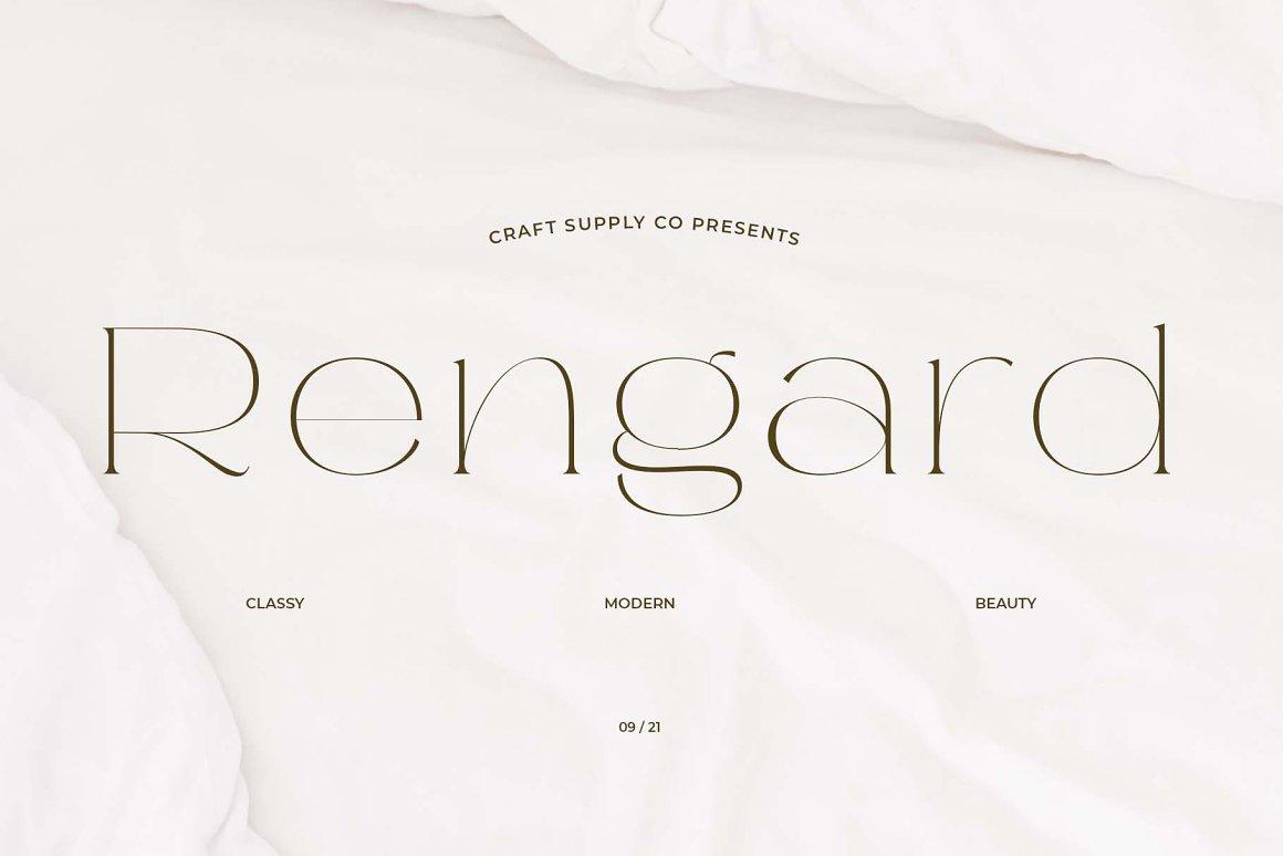 Rengard Font