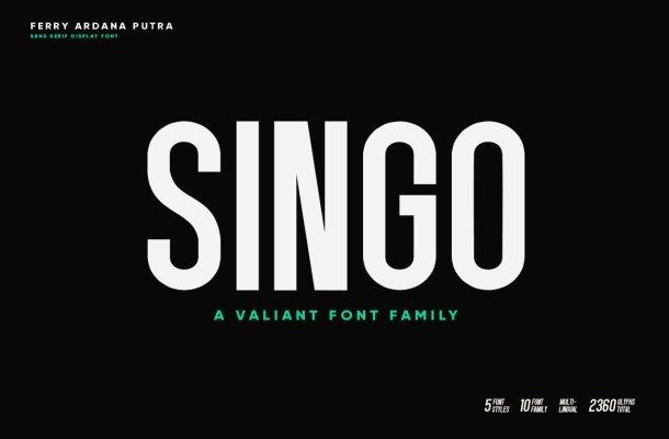 Singo Font Family