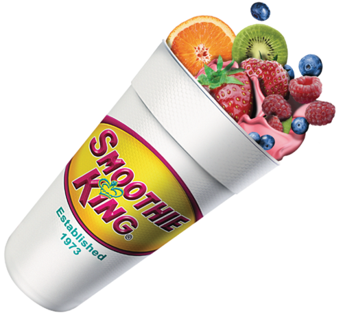 $3 smoothies from Smoothie King
