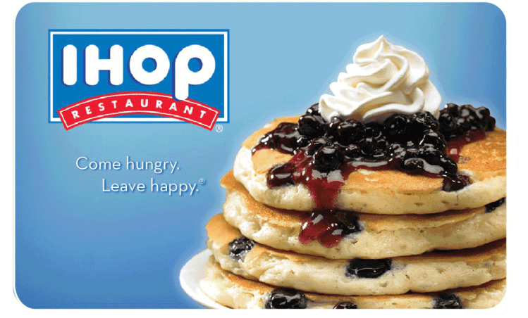 Nearly free pancakes at IHOP on July 18