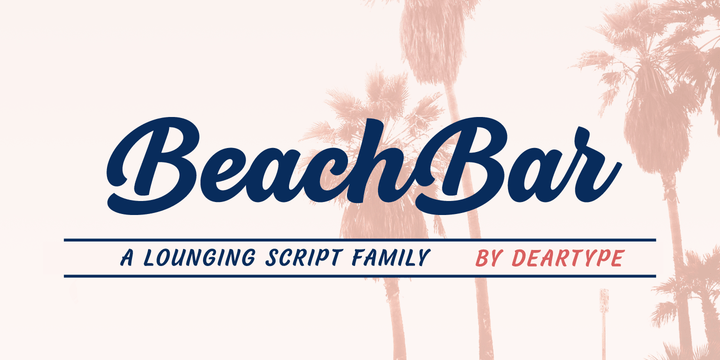 BeachBar Font Free Download