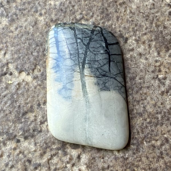 Picasso Marble Cabochon