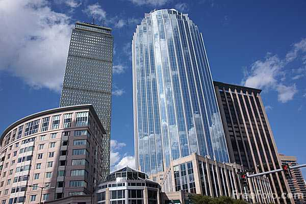 Prudential Center Complex Boston Massachusetts Pictures