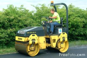 Bomag BW120AD3 pact tandem vibratory roller pictures