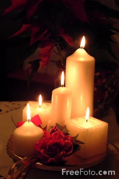 Christmas Candles pictures free use image 901875 by