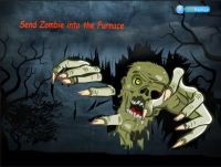 Send Zombie into the Furnace Game