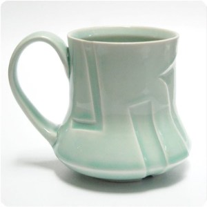 Celadon Mug by Steve Kelly