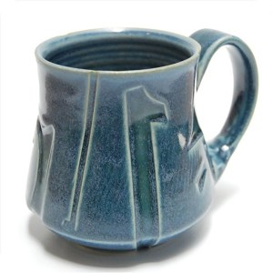 Blue Mug by Steve Kelly
