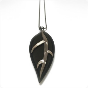 Large Leaf Necklace by Karen McCreary
