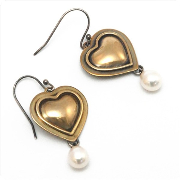 """My Love"" Earrings by Dave and Roberta Williamson"