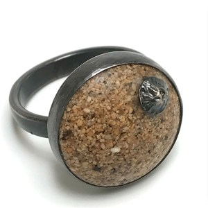 Sand and Barnacle Ring by Casey Sharpe