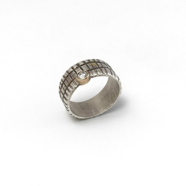 Square Ring by Michele Lippert