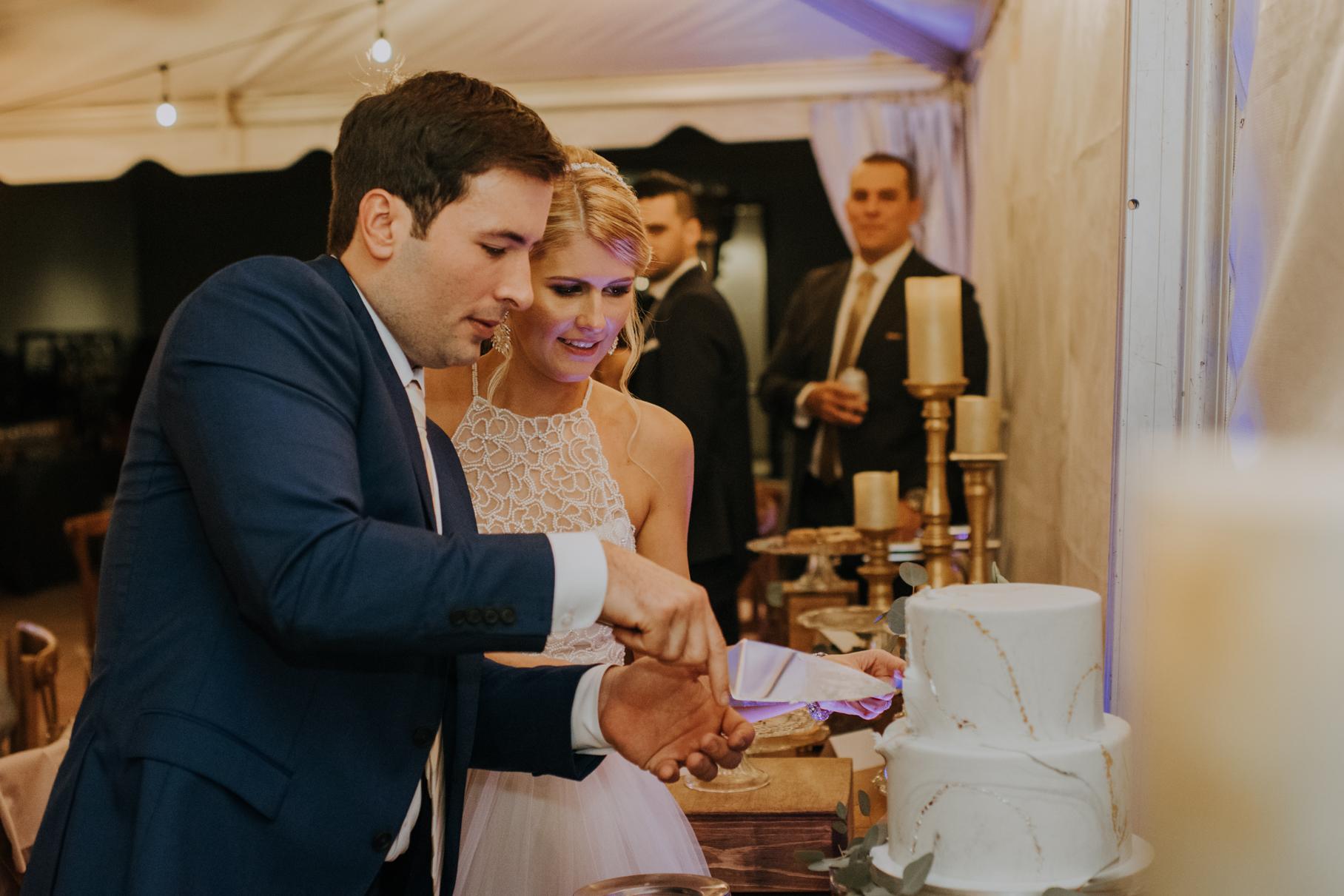 erin + brent | epicurean hotel wedding