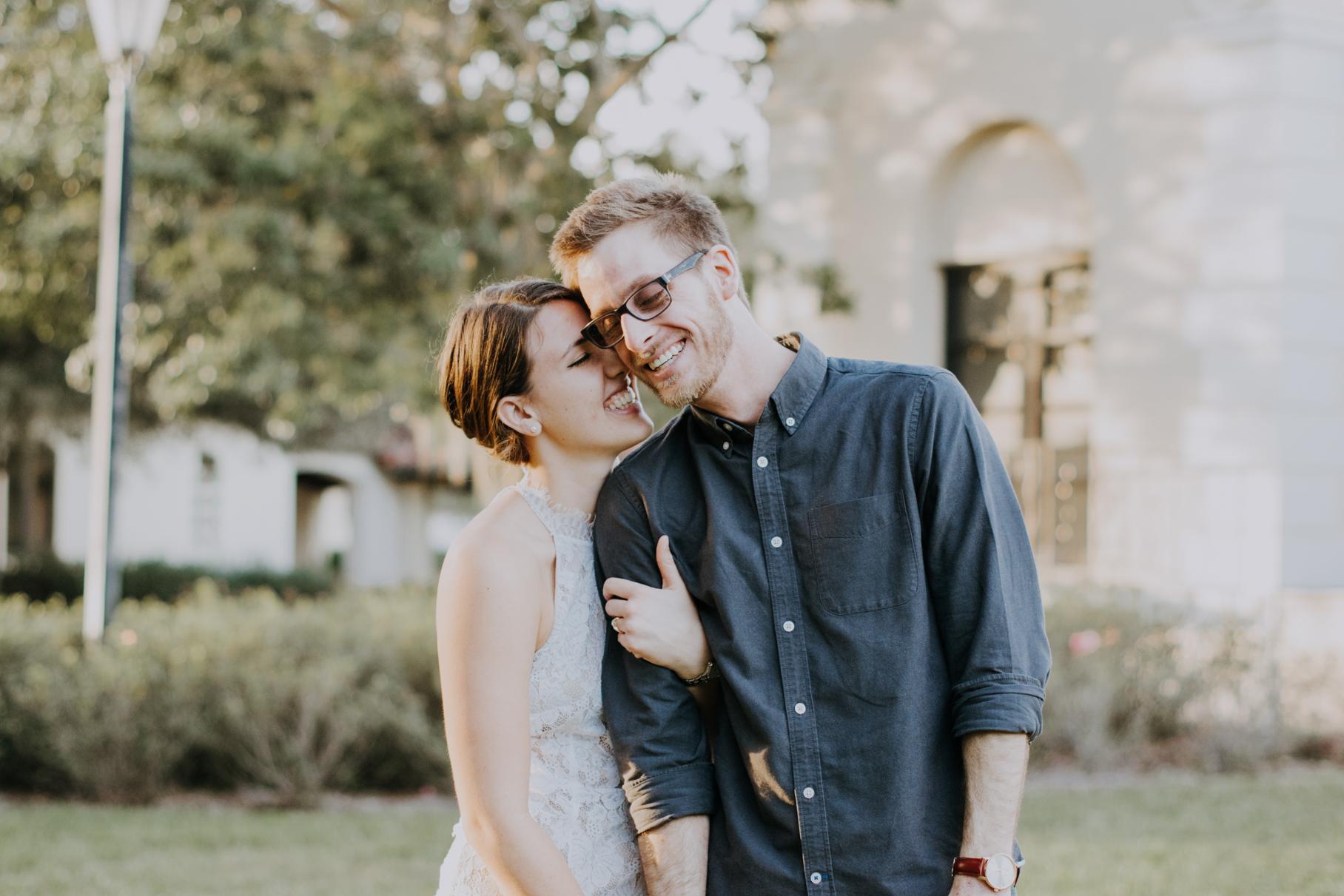 kayla + nathan | rollins college proposal | tampa wedding photographer