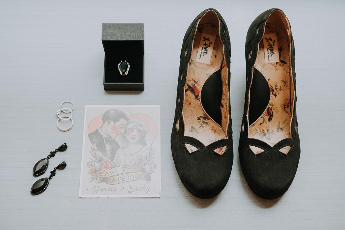 tattoo art save the dates | philadelphia wedding | moody film wedding photography | travel wedding photographer