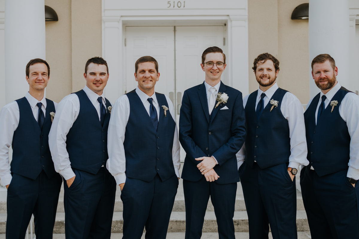 South Tampa wedding | Emily + Aaron | Freehearted Film Co | Tampa Wedding Photography and Wedding Videography
