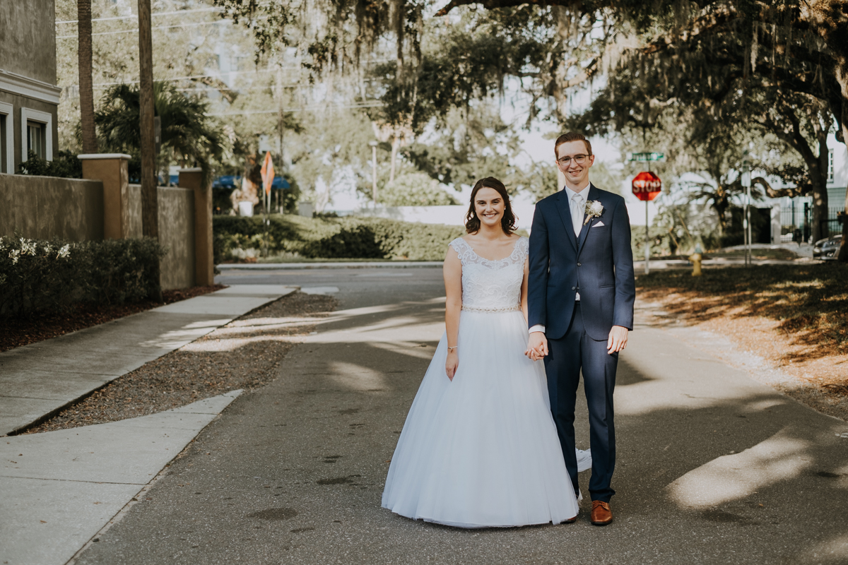 urban wedding | urban style | Tampa wedding | Emily + Aaron | Freehearted Film Co | Tampa Wedding Photography and Wedding Videography