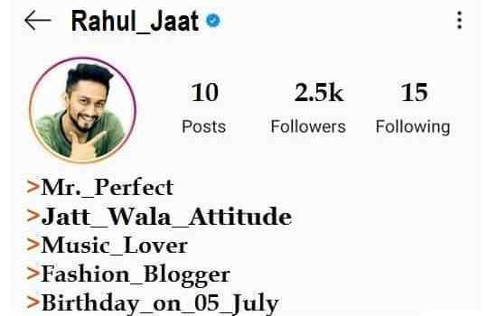 Jaat-Bio-For-Instagram-In-Hindi