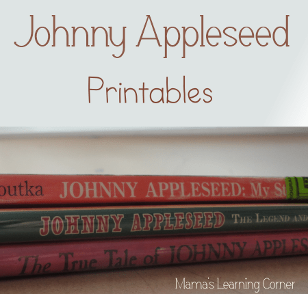 Free Johnny Appleseed Unit Study Printables