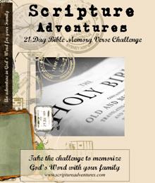 Free 21 Day Bible Memory Verse Challenge
